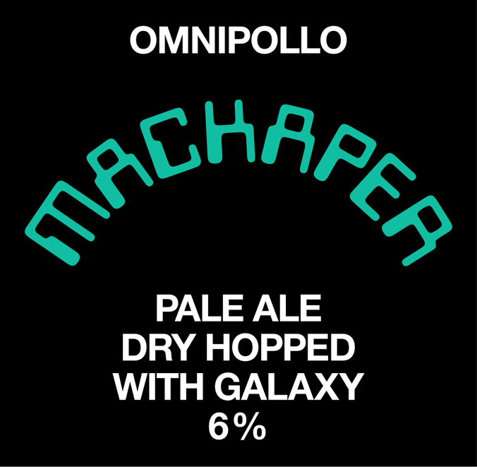 Normal fatskylt omnipollo mackaper