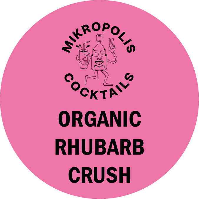 Normal fatskyltar mikropolis organic rhubarb crush