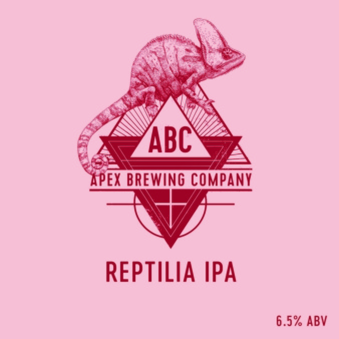 Normal apex reptilia ipa fatskylt