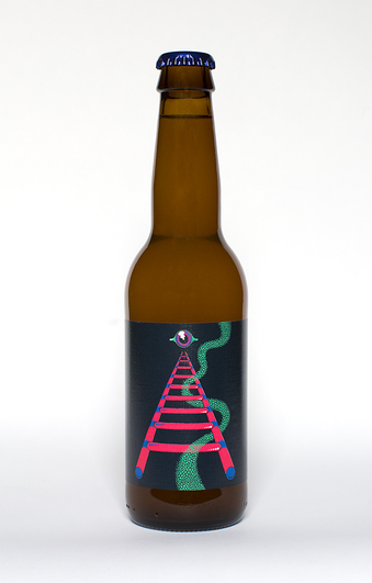 Normal omnipollo bottle aurora