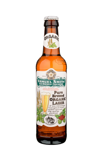 Normal pure brewed organic lager 355ml