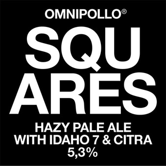 Normal falskylt omnipollo squares