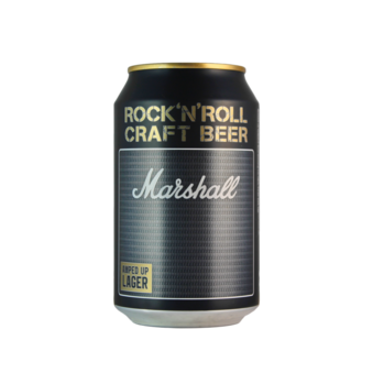Normal marshall amped up lager 33cl square