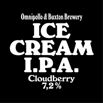 Normal fatskylt omnipollo ice cream ipa cloudberry   6 st